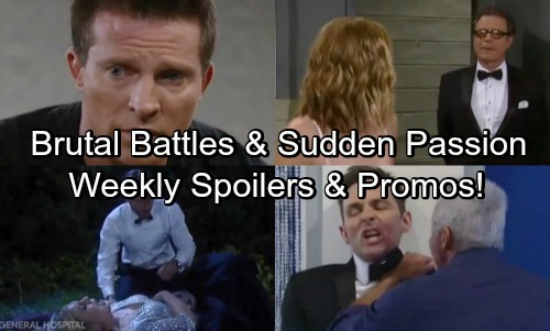 General Hospital Spoilers: Week of May 21-25 – Brutal Battles, Bad Decisions and Sudden Temptation