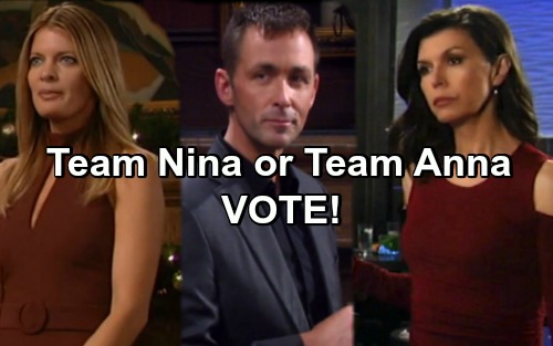 General Hospital Spoilers: Who Do You Prefer With Valentin – Are You Team Nina or Team Anna?