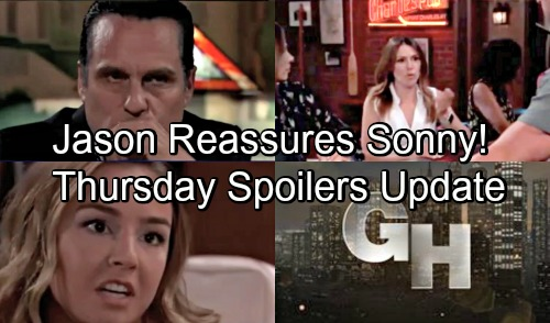 General Hospital Spoilers: Thursday, August 16 Update – Kristina's Shocking Suspicions – Michael's Jonah Meltdown – Jason's Confident