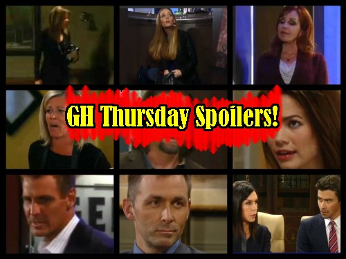 General Hospital Spoilers: Griffin vs Valentin Bitter Custody Fight – Alexis Blacks Out, Wakes Scared – Bobbie Confronts Nelle