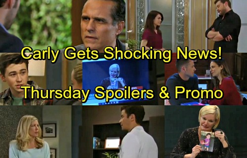 General Hospital Spoilers: Thursday, April 19 – Ava Begs For Avery – Chase Onto Sonny – Drew Grills Liz - Griffin Shocks Carly
