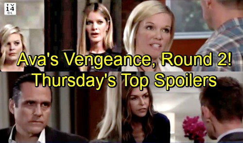 General Hospital Spoilers: Thursday, September 6 Update – Carly Warns Sonny – Ava's Vengeance, Next Round – Death Disturbs Nina