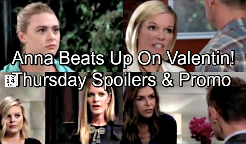 General Hospital Spoilers: Thursday, September 6 – Anna and Valentin's Fierce Faceoff – Ava Won't Back Down – Kiki's Rage Revs Up