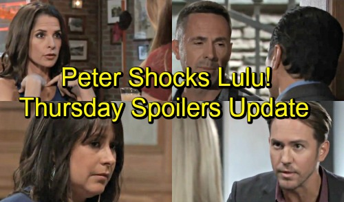 General Hospital Spoilers: Thursday, September 13 Update – Jason Takes Charge – Sam Helps Kristina – Maxie and Robin Talk Peter