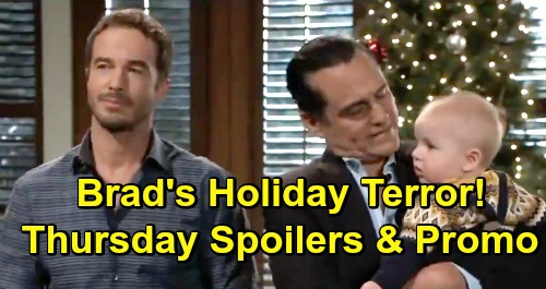 General Hospital Spoilers: Thursday, December 20 – Valentin Panics - Maxie Makes a Wish for Nathan - Brad's Holiday Terror