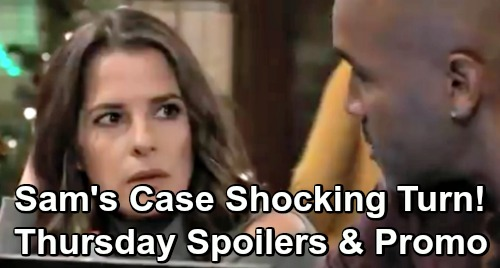 General Hospital Spoilers: Thursday, December 13 – Sam's Case Takes Shocking Turn – Kim and Drew Warm Up – Jason Warns Carly