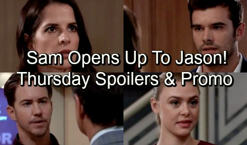 General Hospital Spoilers: Thursday, September 27 – Maxie Surprises Griffin and Kiki – Sam Opens Up To Jason