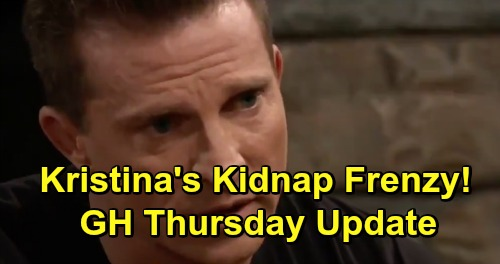General Hospital Spoilers: Thursday, April 11 Update – Josslyn's Small Miracle – Michael's Plea to Willow – Kristina Freaks Over Abduction