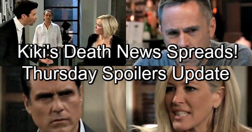 General Hospital Spoilers: Thursday, November 29 Update – Griffin Faces Murder Accusations – Kiki Death Bomb Devastates PC