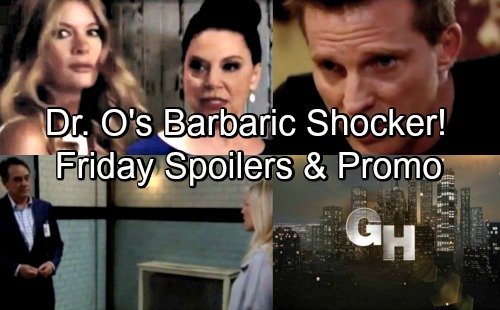 General Hospital Spoilers: Friday, June 29 – Spinelli Gets Nelle Evidence For JaSam – Carly Confronts Kevin – Maxie's Surprise