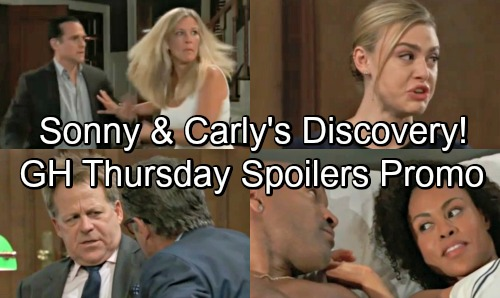 General Hospital Spoilers: Thursday, August 9 – Sonny and Carly's Startling Discovery – Kiki's Tearful Testimony – Ava Suspicious