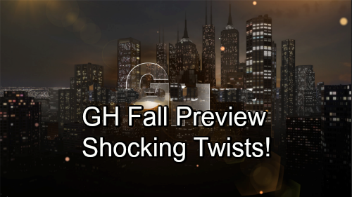 General Hospital Spoilers: GH Fall Preview – Sneak Peek of Stunning Storylines, Big Returns and Major Twists