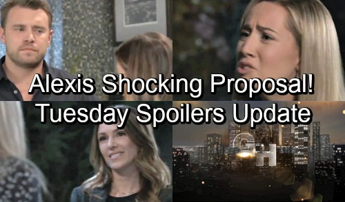 General Hospital Spoilers: Tuesday, October 9 Update – Alexis Hears a Shocking Proposal – Sonny's Threat Heats Up – Josslyn Crumbles
