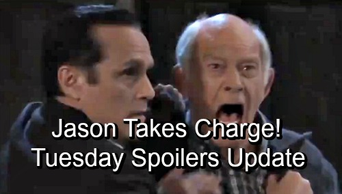 General Hospital Spoilers: Tuesday, September 11 Update – Jason and Sonny's Risky Cover-up – Mike's a Mess – Sam Defends Her Choice