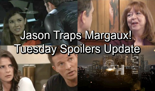 General Hospital Spoilers: Tuesday, October 30 Update – Jason Preps Margaux's Trap – Anna Hits a Roadblock – Mary Pat's Deadly Mistake
