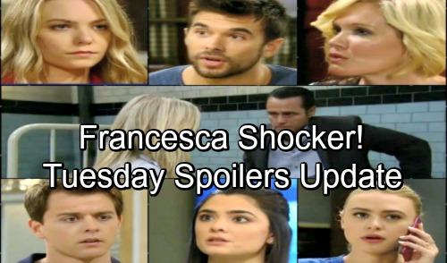 General Hospital Spoilers: Tuesday, June 26 Update – Sonny Promises Carly Revenge – Michael Faces Francesca Shocker – Nelle Panics