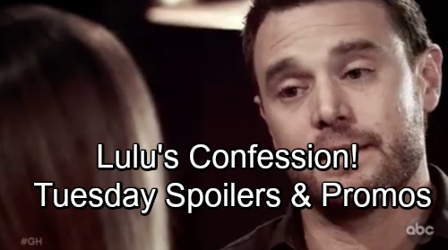 General Hospital Spoilers: Tuesday, September 18 – Nina's In Danger – Lulu's Confession Shocks Maxie – Drew Pushes Sam Away