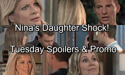 General Hospital Spoilers: Tuesday, October 2 – Nina Faces Valentin's DNA Shocker – Chase Has Huge News – Oscar's Next Meltdown