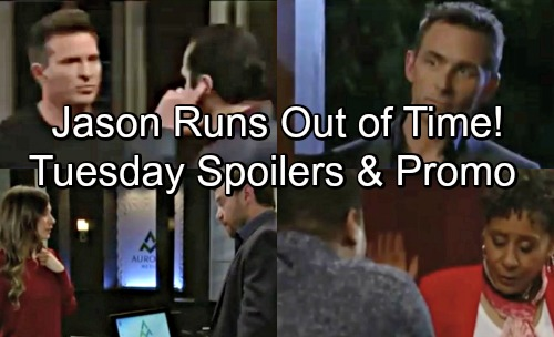 General Hospital Spoilers: Tuesday, June 5 – Nelle's Winning, Time's Running Out for Jason – Drew Opens Up to Kim