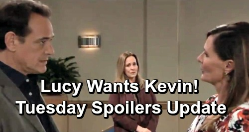 General Hospital Spoilers: Tuesday, April 2 Update – Alexis Drops Bequest Bombs – Lucy and Kevin's Bond Grows – Sonny Gives Thanks