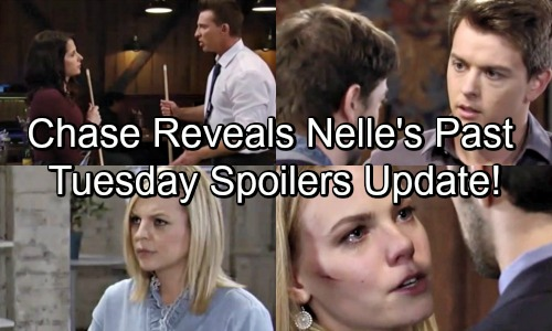 General Hospital Spoilers: Tuesday, June 12 Update – Michael Gets the Upper Hand – Chase Drags Up Nelle's Past – Nina's Urgent Warning