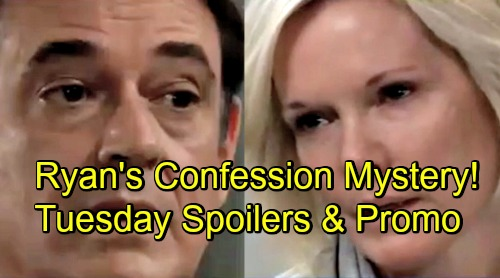 General Hospital Spoilers: Tuesday, December 4 – Ryan's Confession Baffles Ava – Maxie Panics Over Love – Mac Rattles Peter