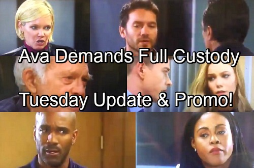 General Hospital Spoilers: Tuesday, April 24 Update – Jordan's Lung Cancer – Ava Wants Full Custody – Nelle Manipulates Michael