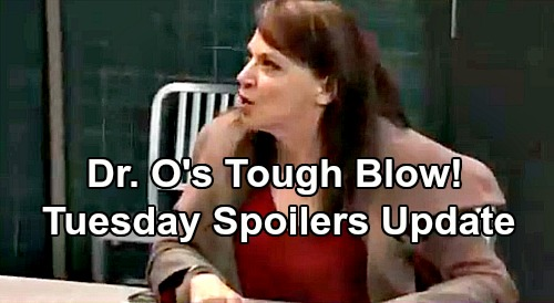 General Hospital Spoilers: Tuesday, December 11 Update – Dr. O's Tough Blow – Ava's Claims Disgust Carly – Ryan's Deadly Desires Rev Up