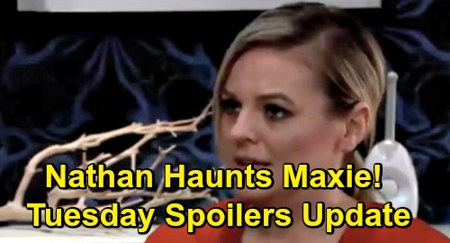 General Hospital Spoilers: Tuesday, December 4 Update – Nathan's Memory Haunts Maxie – Ryan's Dangerous Game – Griffin Doubts Ava's Guilt