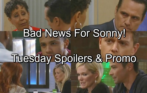 General Hospital Spoilers: Tuesday, May 1 – Carly's Scary Admission – Stella Gives Sonny Bad News – Nelle Surprises Michael