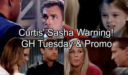 General Hospital Spoilers: Tuesday, September 25 – Oscar Erupts - Charlotte's Afraid - Curtis' Sasha Warning - Julian Hates Wiley Plan