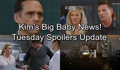 General Hospital Spoilers: Tuesday, May 15 Update – Kim's Big Baby News - Carly Freaks Over Nelle's Setup – Ava Regains Control