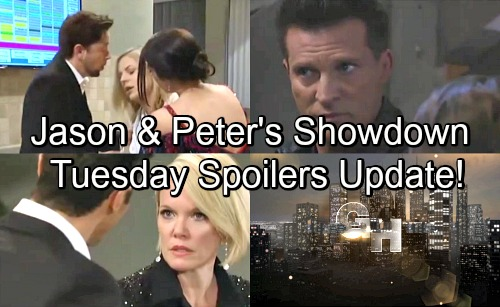 General Hospital Spoilers: Tuesday, May 22 Update – Jason and Peter Guns Drawn – Maxie Baby Mystery – Griffin and Ava Split