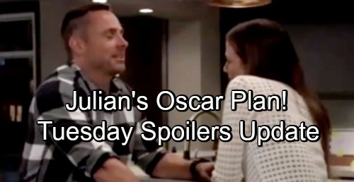 General Hospital Spoilers: Tuesday, September 18 Update – Julian's Oscar Plan – Anna Faces Cassandra Questions – Maxie's Bombshell