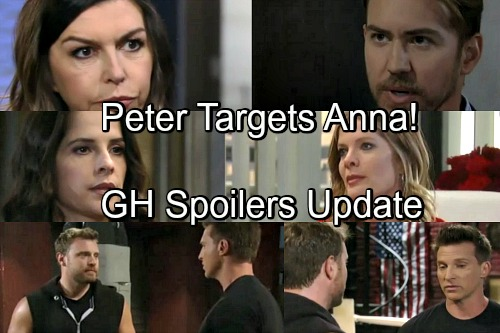 General Hospital Spoilers: Tuesday, May 8 Update – Anna Is Peter's Next Target – Drew and Jason's Battle – Sam Grills Nina