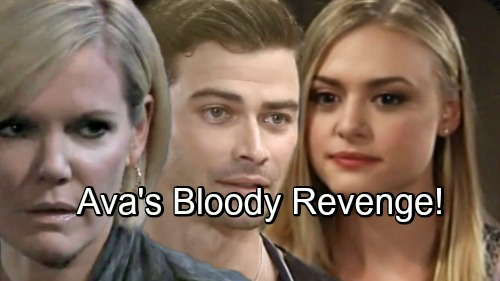 General Hospital Spoilers: Ava's Revenge Takes a Deadly Turn – Griffin's Life on the Line, GH Hints at Shocking Outcome