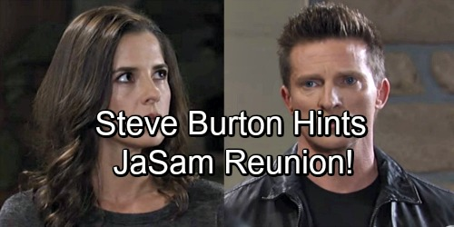 General Hospital Spoilers: Steve Burton Hints at Jason and Sam Romantic Reunion - JaSam Fans Rejoice