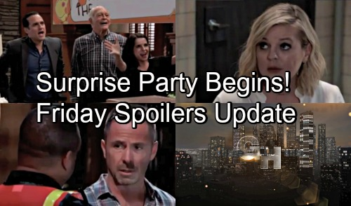 General Hospital Spoilers: Friday, August 17 Update – Julian and Sonny's Battle Heats Up – Surprise Party Kicks Off – Maxie's Challenge