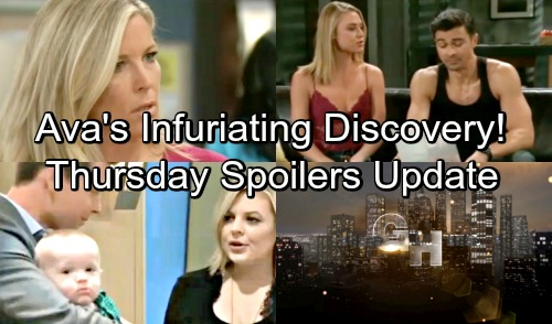 General Hospital Spoilers: Thursday, September 20 Update – Ava's Infuriating Discovery – Brad's Freak-Out Over Wiley Heart Issue