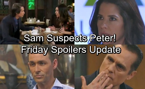 General Hospital Spoilers: Friday, April 27 Update – Ava Plots Payback – Sam Suspicious of Peter – Anna's Emotional Confession