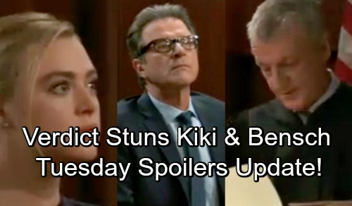 General Hospital Spoilers: Tuesday, August 14 Update – Kiki Shocked by Verdict – Franco Blasts Ava – Valentin Gets Grilled