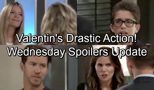 General Hospital Spoilers: Wednesday, October 17 Update – Nina Leans on Maxie – Valentin Takes On Sasha – Spencer Finds Sonny