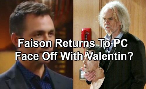 General Hospital Spoilers: Faison Returns To Port Charles - Valentin Faces Evil Mastermind?