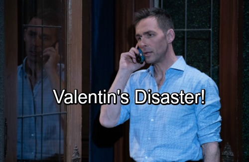 General Hospital Spoilers: Valentin's Romantic Surprise Brings Disaster