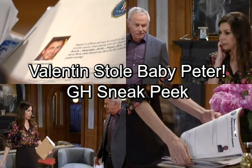 General Hospital Spoilers: Sneak Peek Video - Anna and Robert Reach Shocking Conclusion, Valentin Stole Baby Heinrik