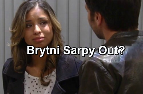 General Hospital Spoilers: UPDATE - Brytni Sarpy Off Contract, Bumped To Recurring Status