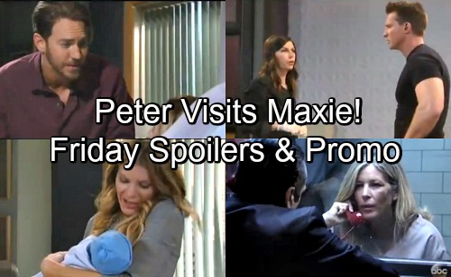 General Hospital Spoilers: Friday, June 1 – Jason's Grim News For Anna – Maxie's Startling Dream – Nelle's Apology To Carly