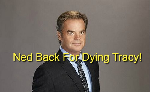 General Hospital Spoilers: Ned Ashton Back for Dying Mother Tracy - Wally Kurth Returns to GH