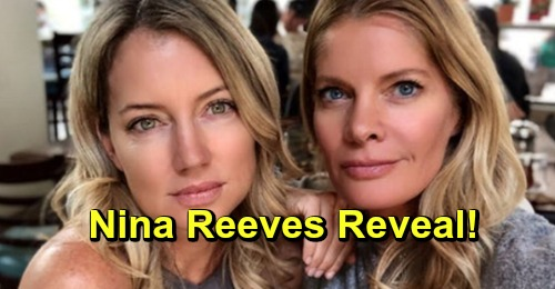 General Hospital Spoilers: Nina Reeves Reveal - Cynthia Watros Sneak Peek Wins Fans Over, Michelle Stafford Passes the Torch