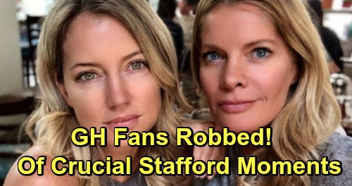 General Hospital Spoilers: GH Fans Robbed of Crucial Michelle Stafford Moments - Nina Transition Botches Sasha Shocker and Willow Reveal